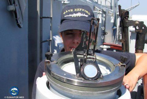 Italian Navy Ship Zeffiro joins Op. Sophia