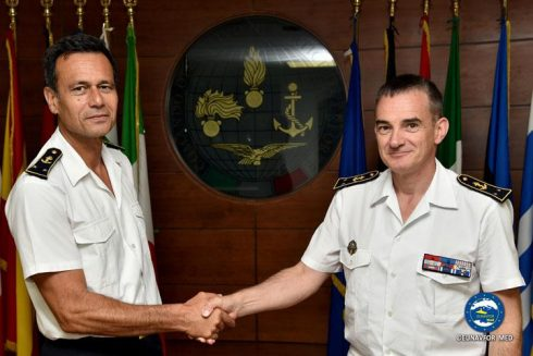 New Deputy Operation Commander for EUNAVFOR MED operation Sophia
