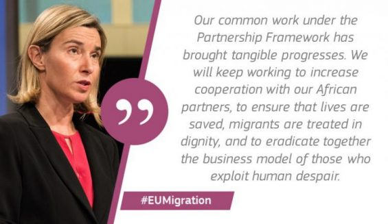 Partnership on migration delivering results one year on
