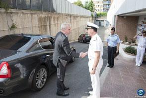 DG EUMS visits the EUNAVFOR MED OHQ