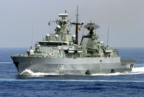 """FGS """"Schleswig-Holstein"""": rescue at sea"""