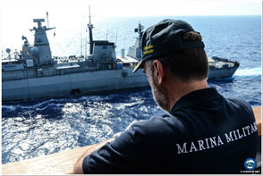EUNAVFOR MED Commander in the area of operations