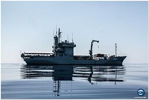 "The German ship ""Werra""saves migrants in danger"