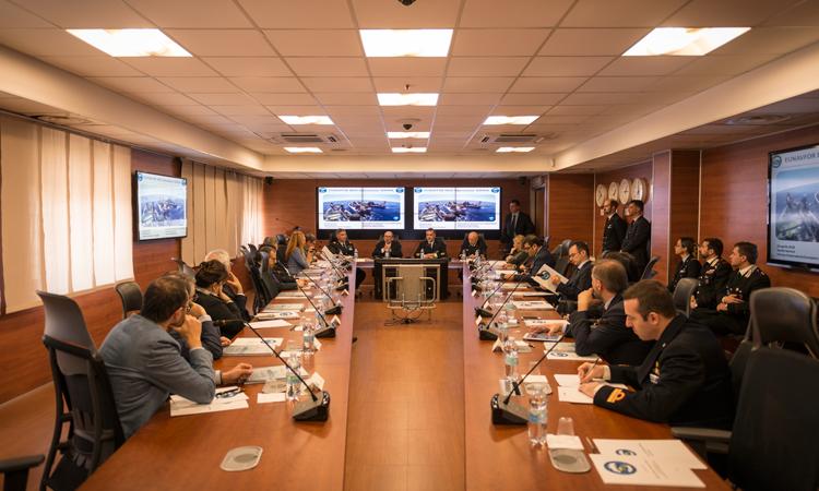 Operation Sophia and Italian National Antimafia and Counterterrorism Prosecutor meeting