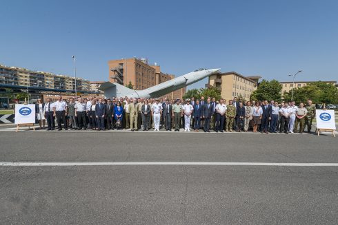 The EU PSC and the EUMC visited OHQ