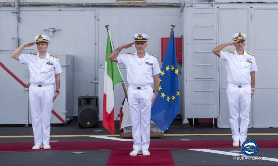 A new Force Commander for EU Sophia Task Force.