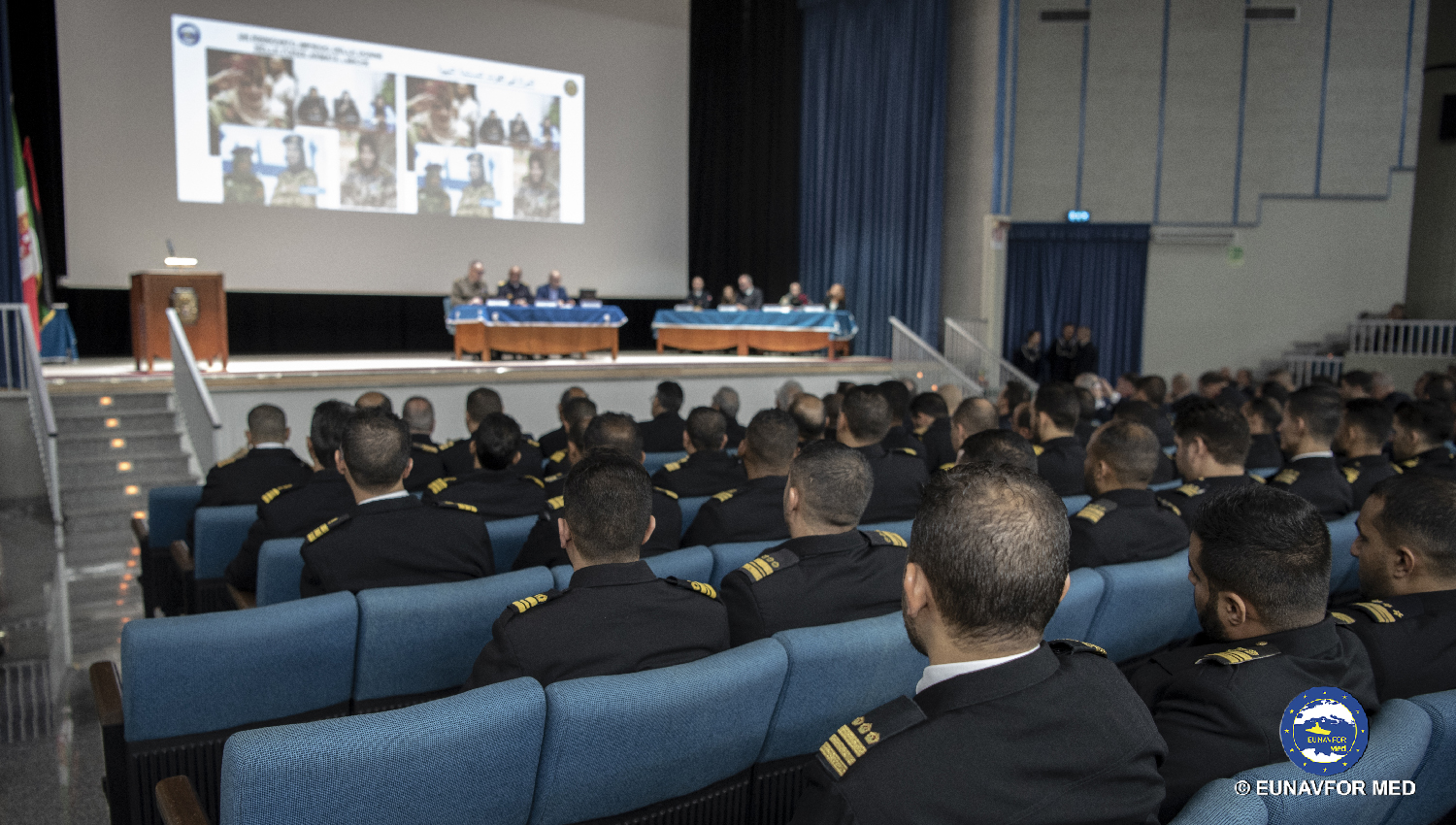 Operation SOPHIA: a further training module for the Libyan Navy carried out in Italy