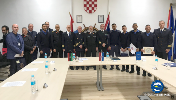 Operation SOPHIA: training on diving ends in Split