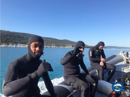 Operation SOPHIA: Basic Ship's Diver Course ends in Split, Croatia.