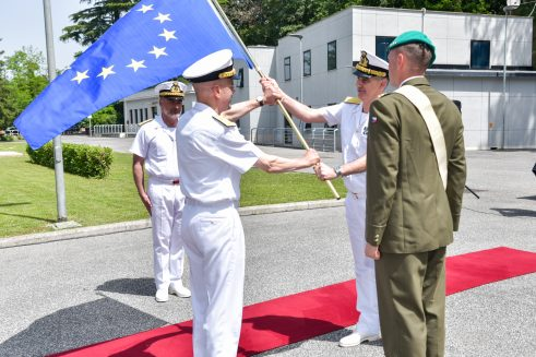 EUNAVFOR Med: Force Commander handover/takeover ceremony