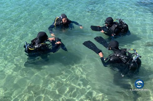 Basic Ship's Divers Course  ended in Split, Croatia
