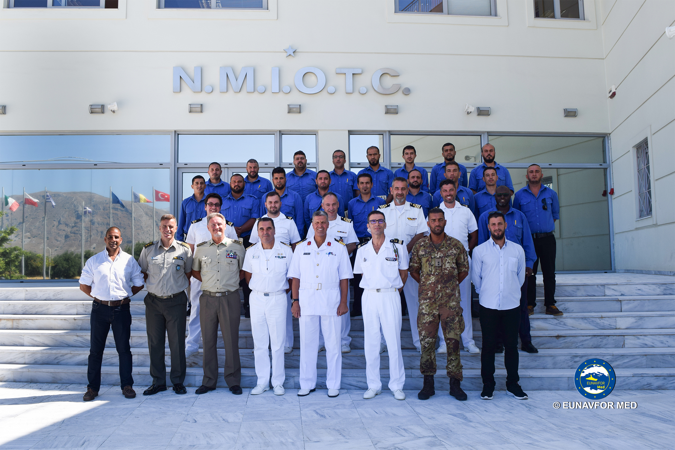 Naval and Maritime Communication Course ended in Souda Bay, Crete