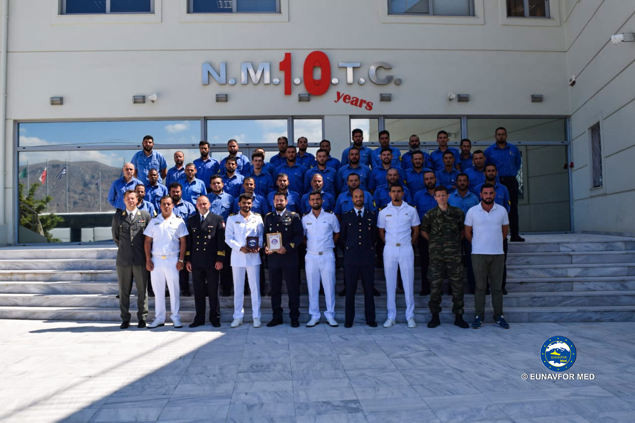 VBSS training module ended in Souda Bay, Crete (Greece).