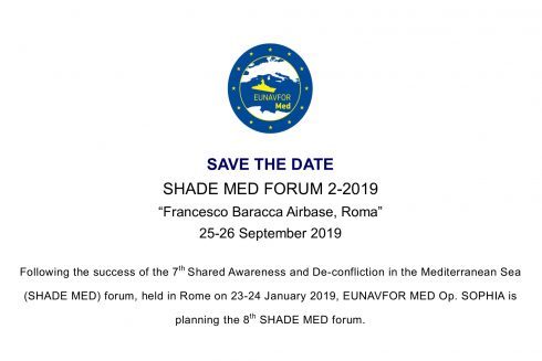 SAVE THE DATE  SHADE MED FORUM 2-2019