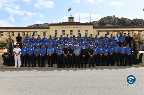 Operation Sophia: New training modules in Italy