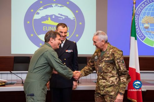 A new Chief of Staff for EUNAVFOR MED Operation Sophia OHQ
